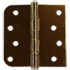 Ball bearing hinges bright brass